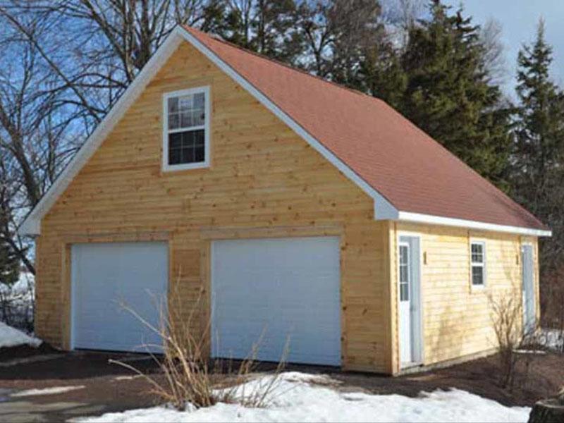 Garages chalets garage personnalis chalet ecurie for Toit de garage